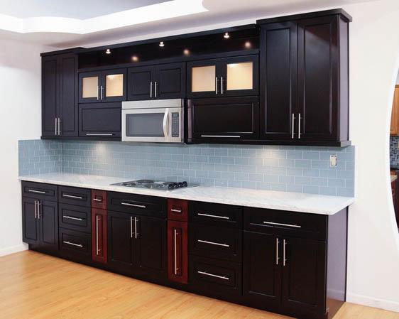 Espresso Maple Cabinets - cabinet warehouse