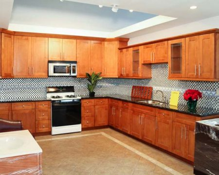 maple cabinets